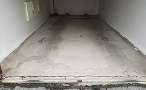 ISOTEC Garage flooring renovation the Cause Ingress of Moisture